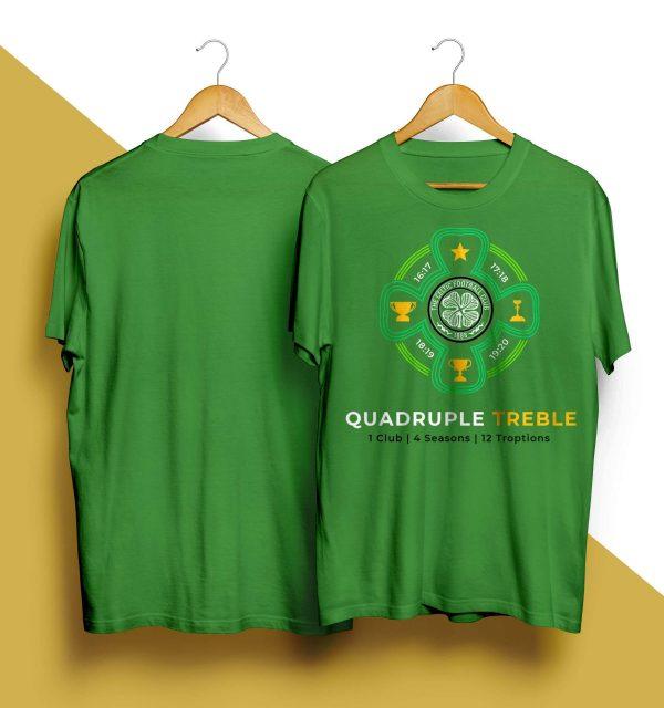 Celtic Quadruple Treble T Shirt