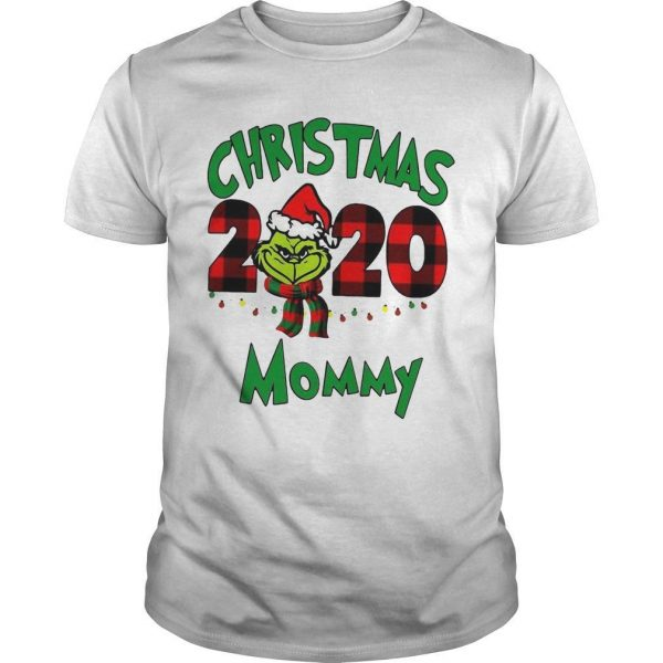 Christmas Mommy 2020 Boys Grinch Shirt