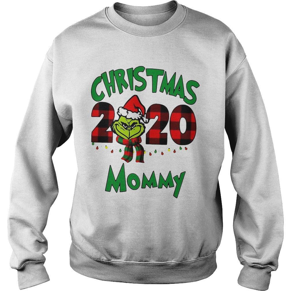 Christmas Mommy 2020 Boys Grinch Sweater
