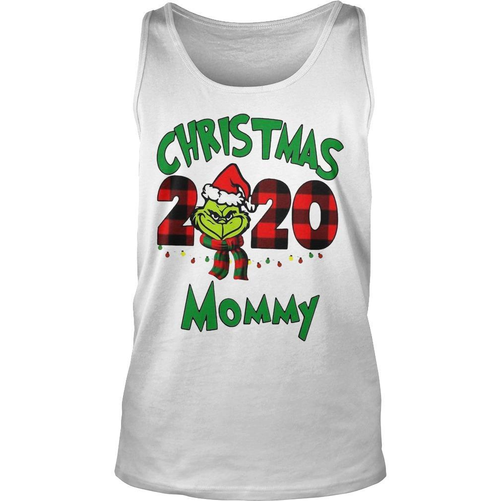 Christmas Mommy 2020 Boys Grinch Tank Top
