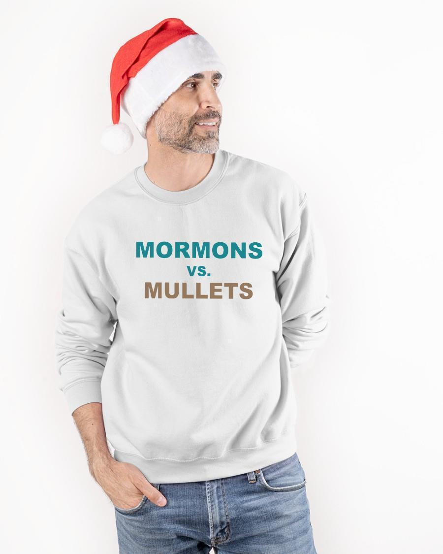 Coastal Carolina Football Mormons Vs Mullets Longsleeve