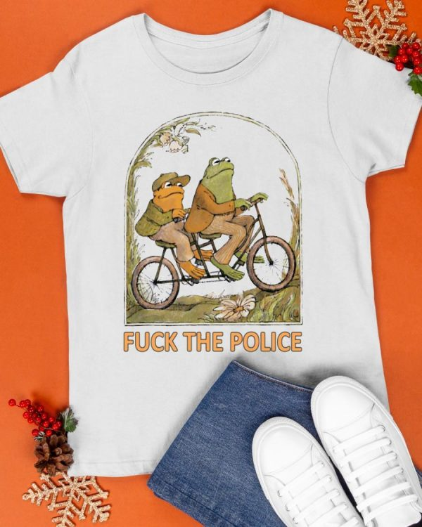 Fuck The Police Frog Shirt