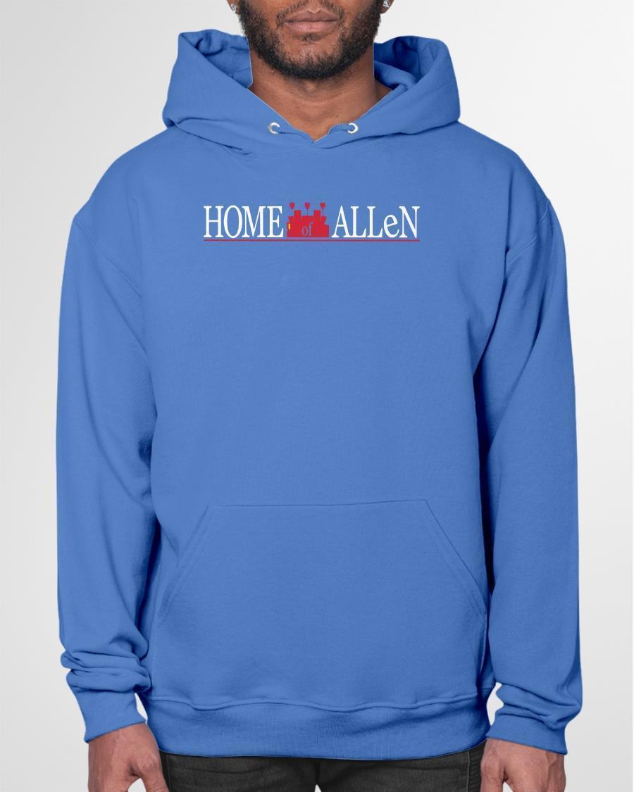 Home Of Allen Hoodie