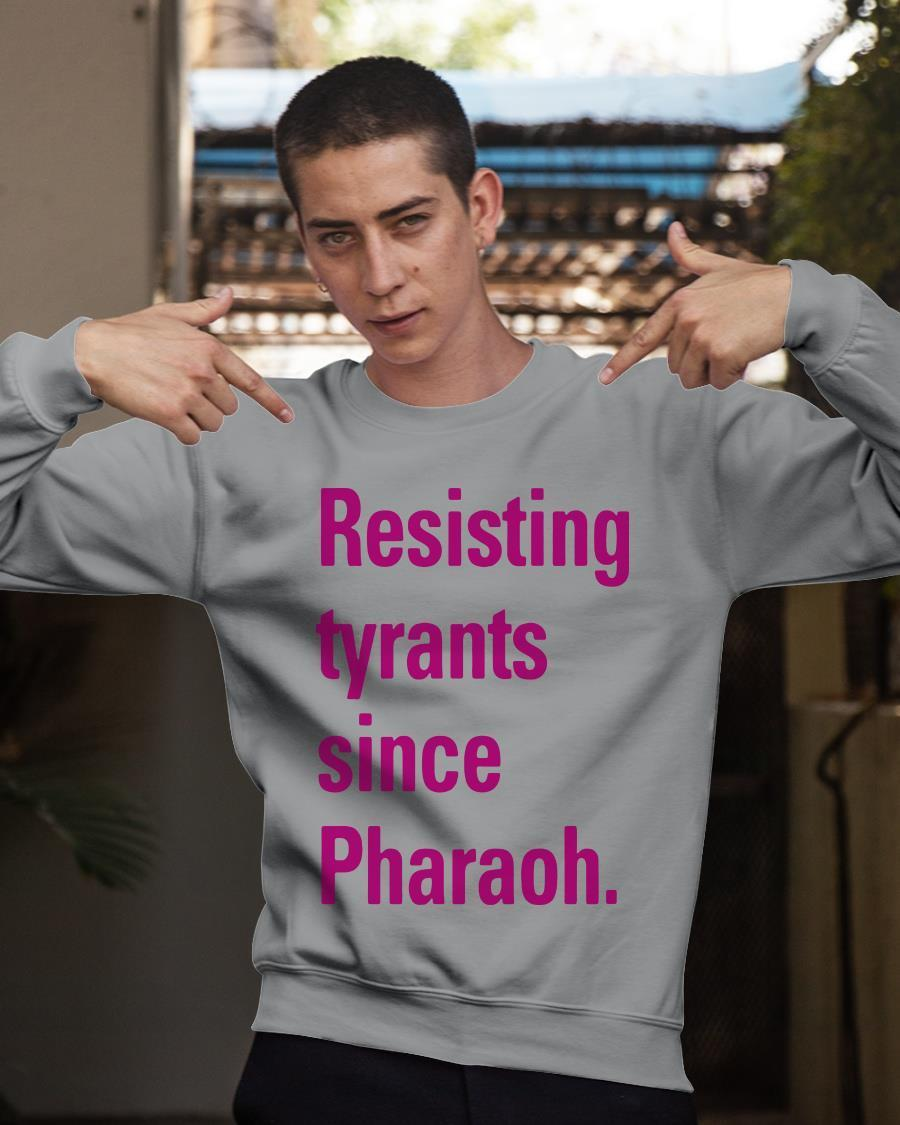 Iqbal Theba Resisting Tyrants Since Pharaoh Sweater