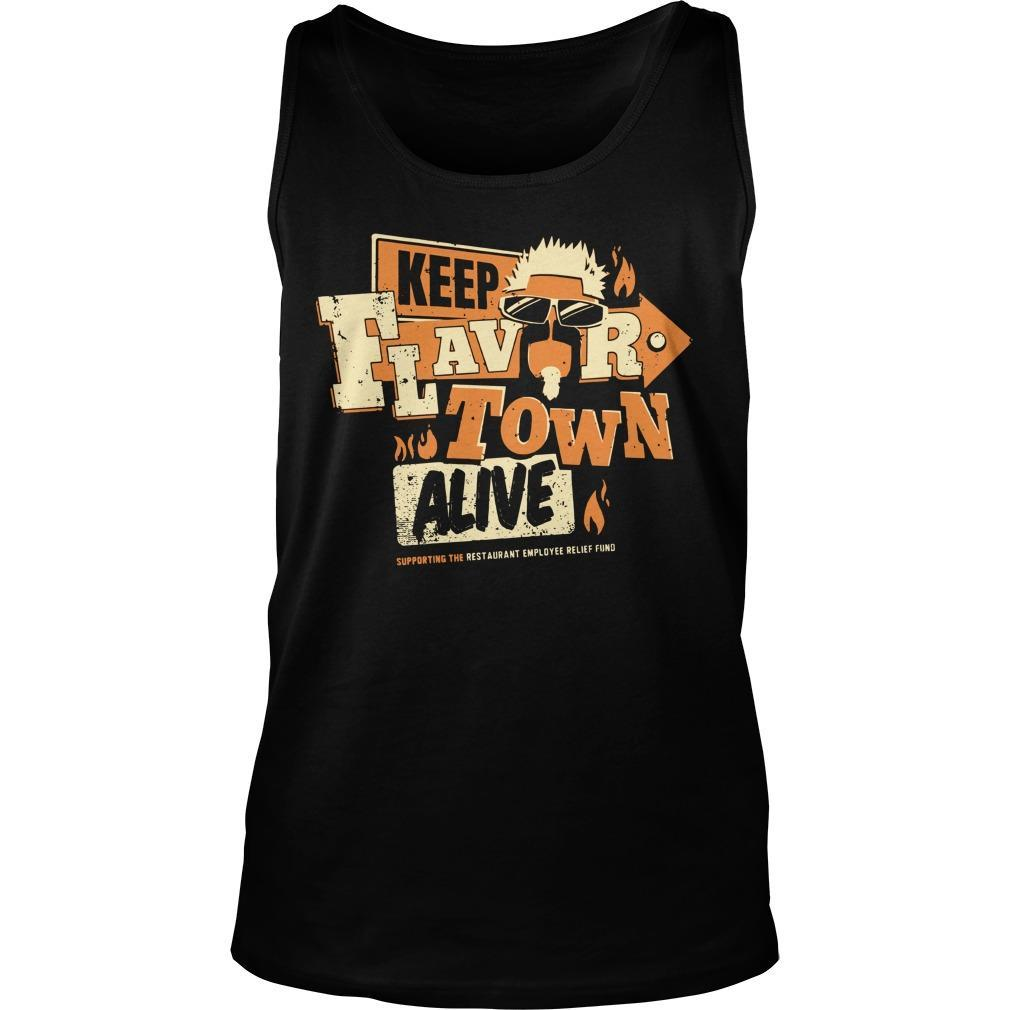 Jimmy's Famous Seafood Keep Flavortown Alive Tank Top