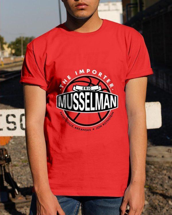 Jon Rothstein The Importer Eric Musselman Shirt