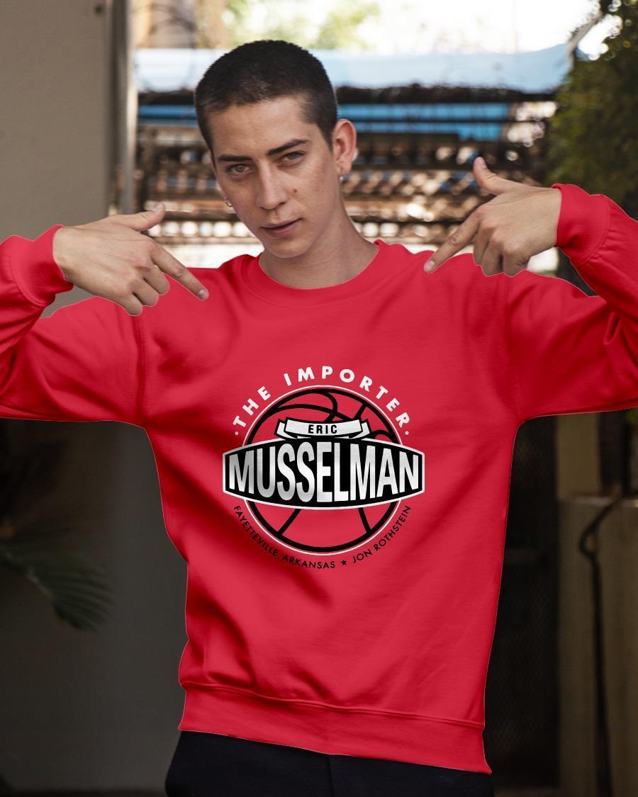 Jon Rothstein The Importer Eric Musselman Sweater
