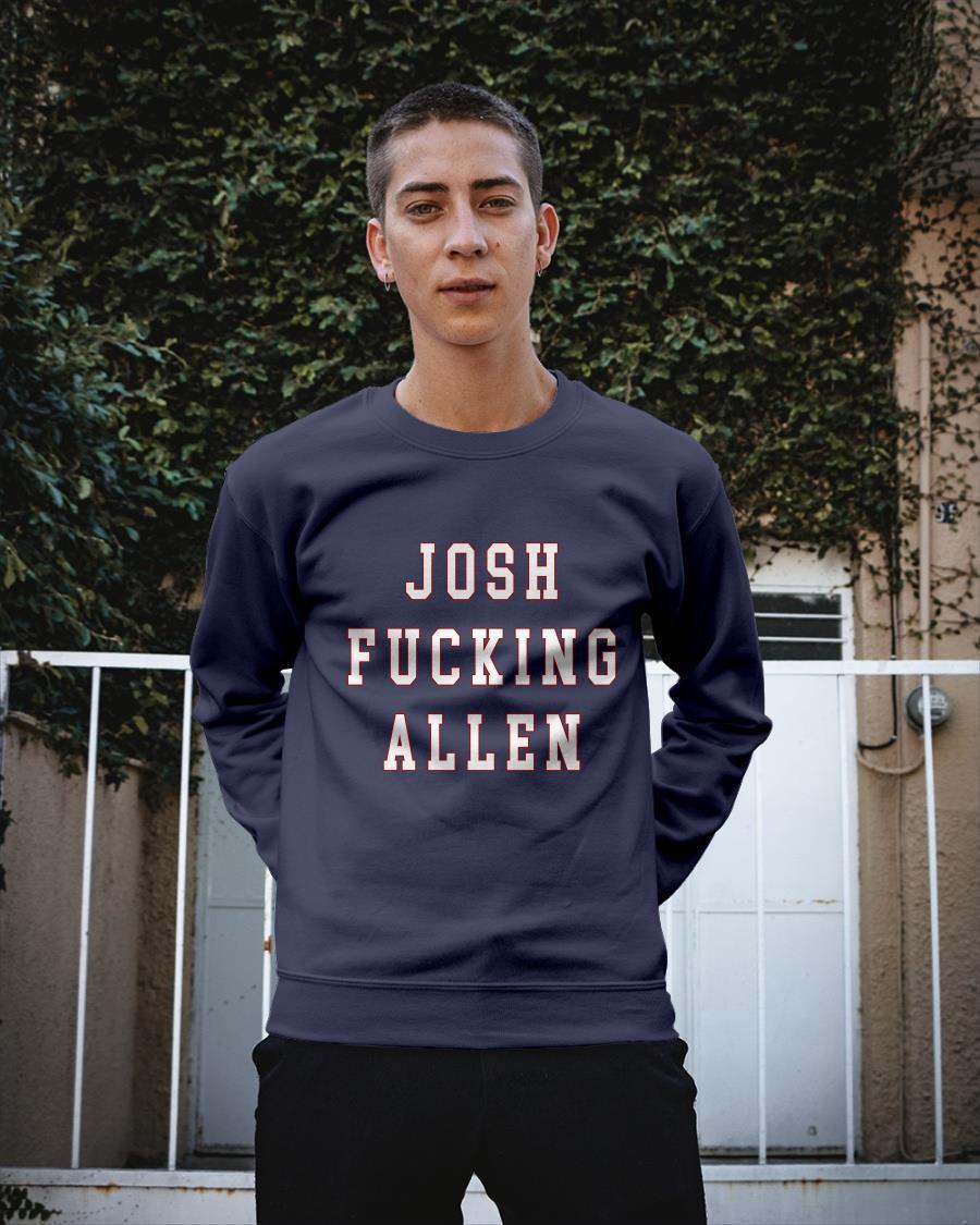 Josh Fucking Allen Longsleeve