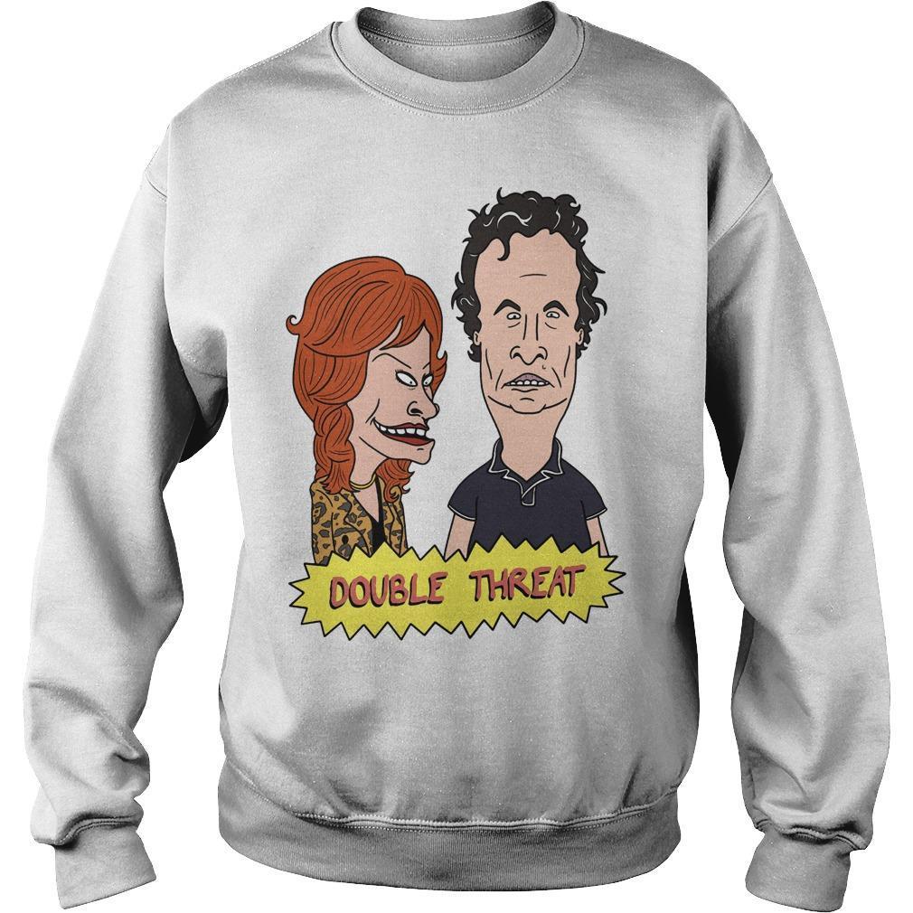 Julie Beavis Tom Butthead Double Threat Sweater