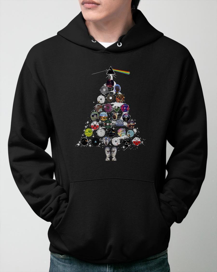 Pink Floyd Christmas Tree Hoodie