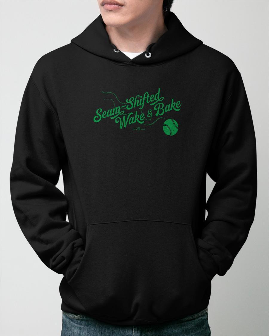 Rob Friedman Seam Shifted Wake And Bake Hoodie