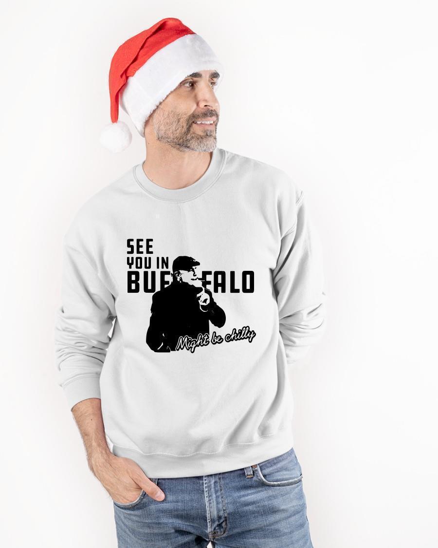 See You In Buffalo Steve Tasker T Sweater