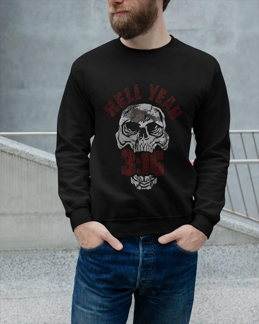 Stone Cold Steve Austin Hell Yeah 3 16 Sweater