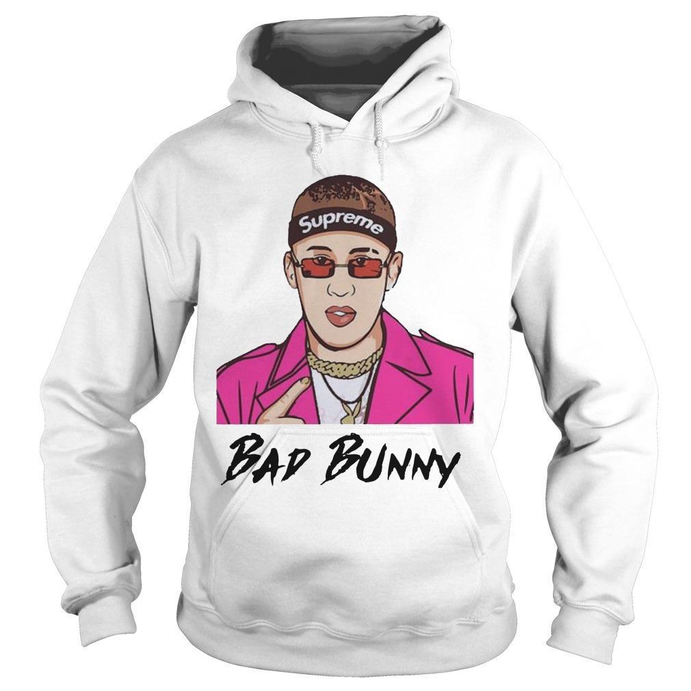 Supreme Bad Bunny Hoodie