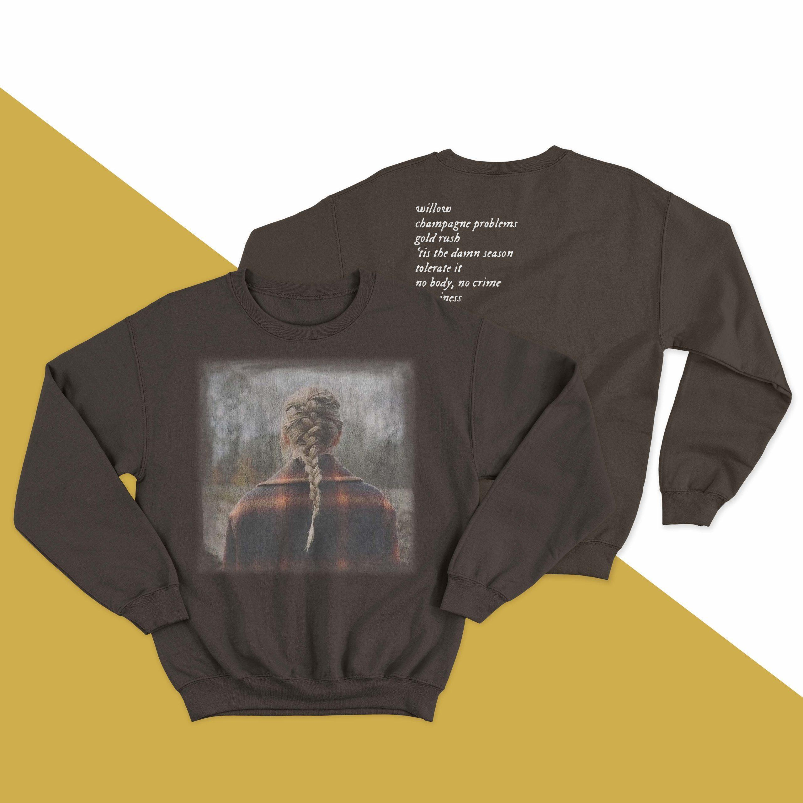 Taylor Swift Celebration Of Evermore Sweater