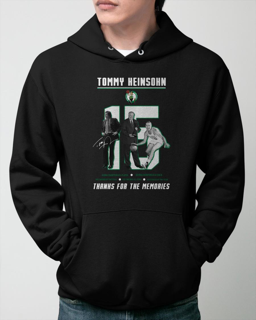Thanks For The Memories Tommy Heinsohn Hoodie