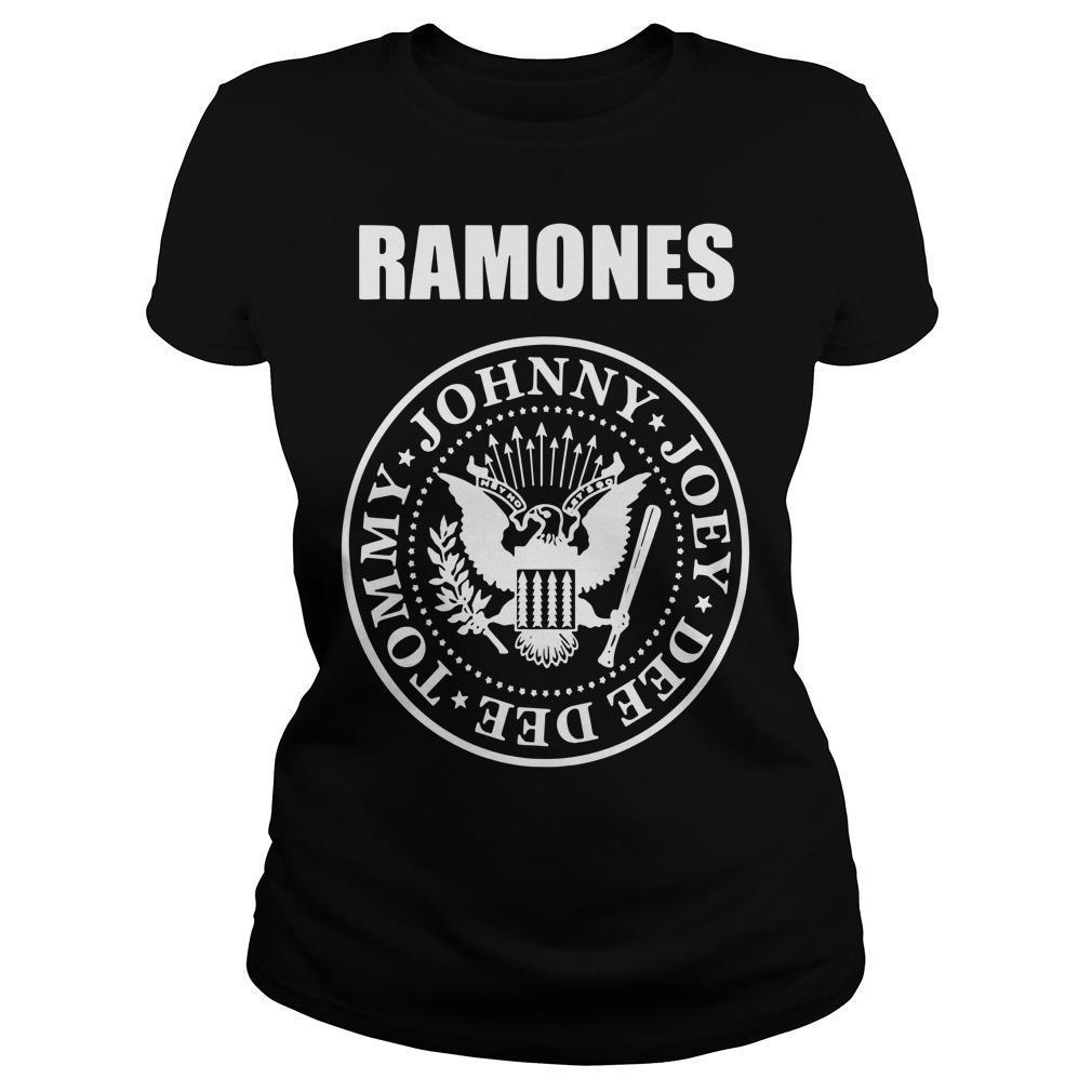 The Hard Times Ramones Tommy Johnny Joey Dee Dee Longsleeve