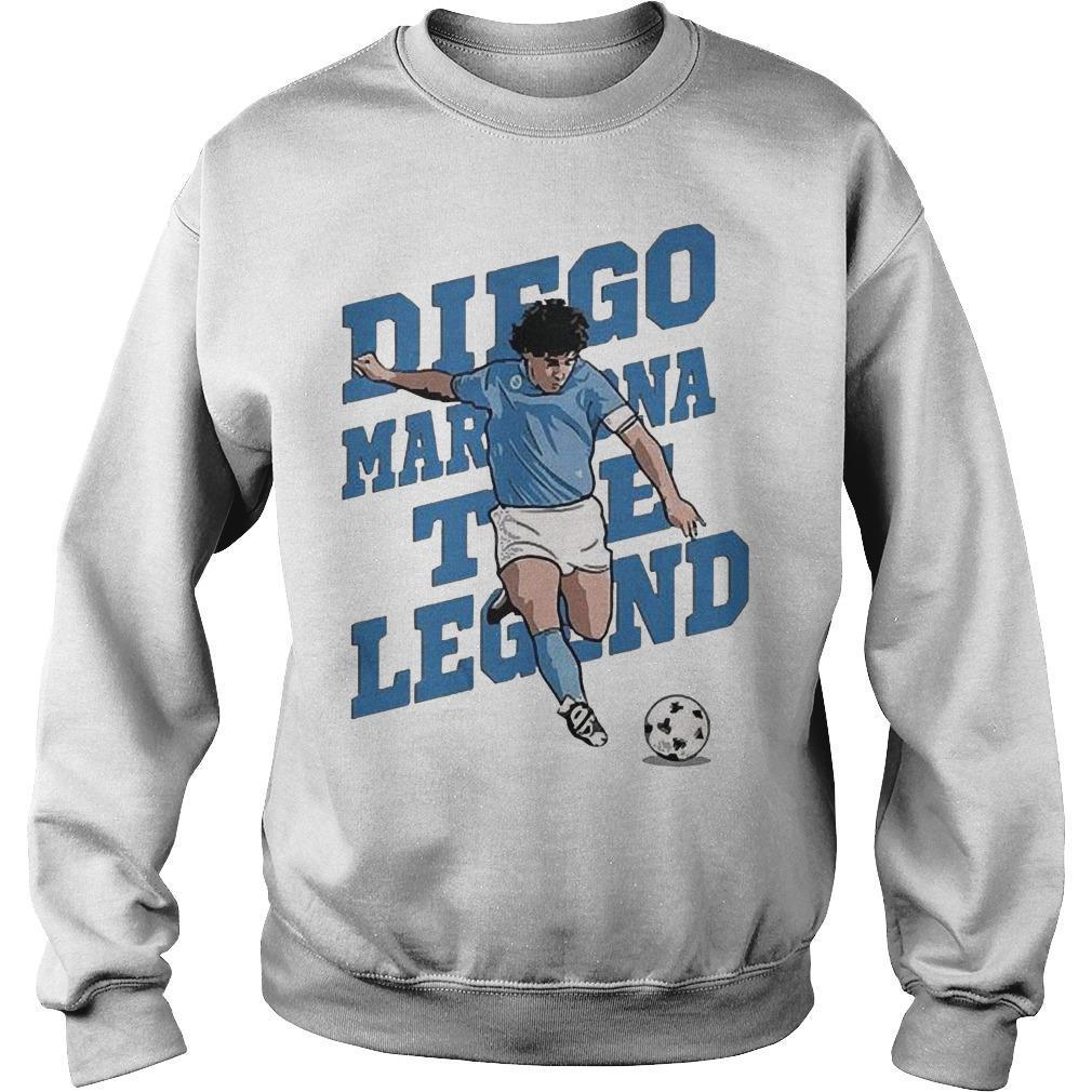 The Legend Diego Maradona Sweater