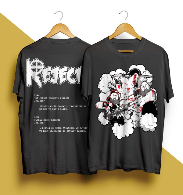 The Rejects X Crimson Mask Shirt
