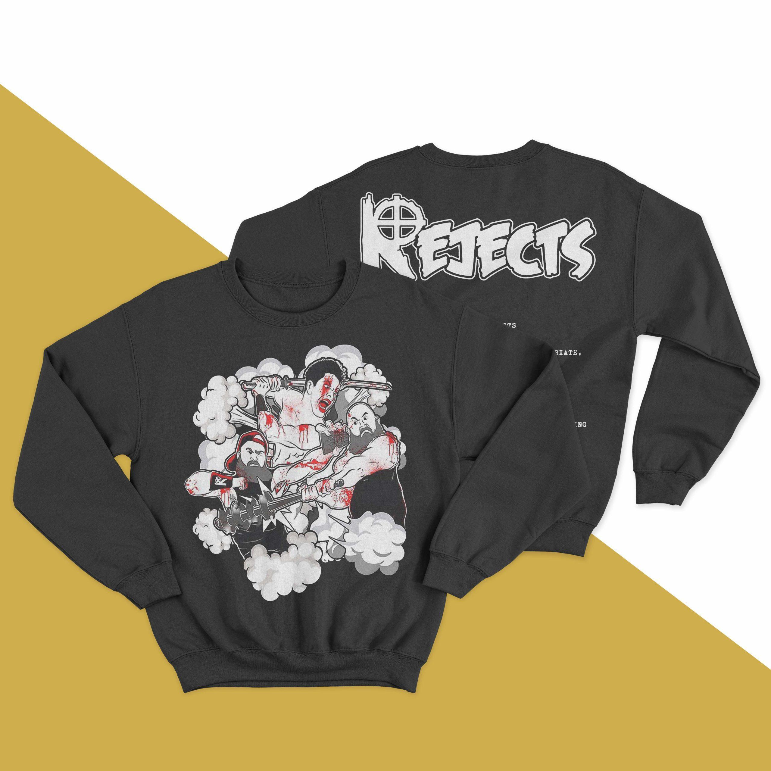 The Rejects X Crimson Mask Sweater