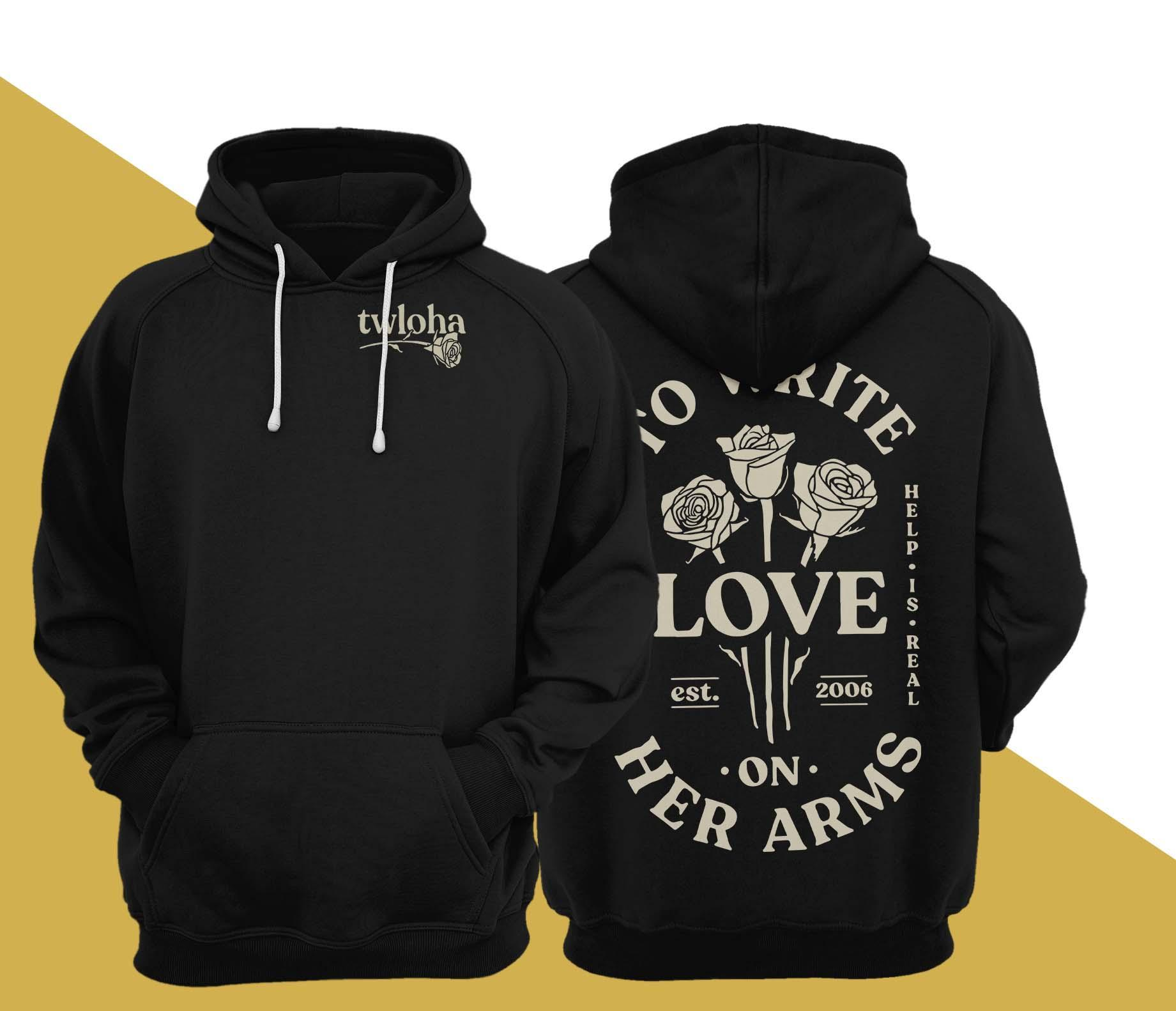 Twloha To Write Love On Her Arms Hoodie