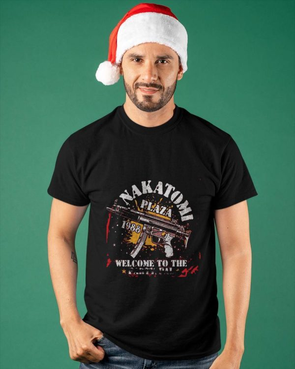 Welcome To The Party Pal Nakatomi Plaza Shirt