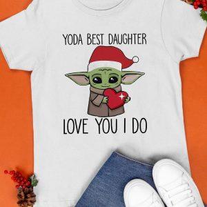 Yoda Best Daughter Shirt