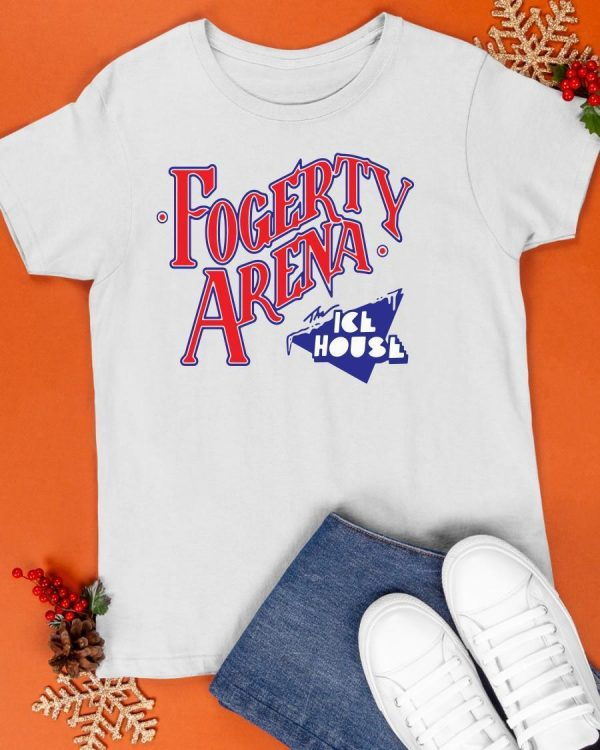 Fogerty Arena The Ice House Shirt