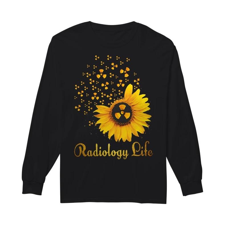 Sunflower Radiology Life longsleeved
