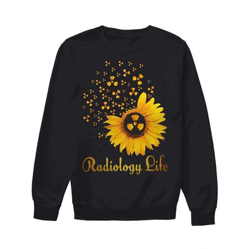 Sunflower Radiology Life Sweater
