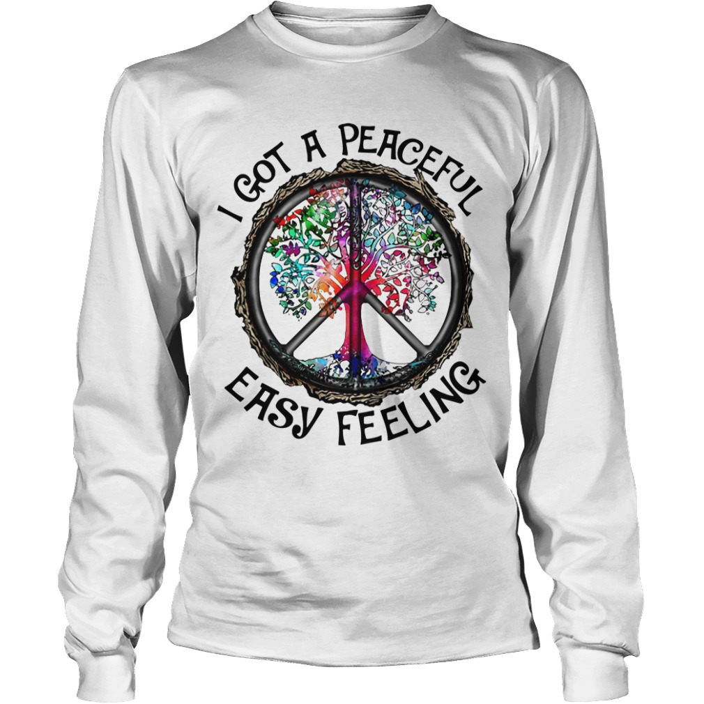 Hippie Tree I Got A Peaceful Easy Feeling longsleeve tee