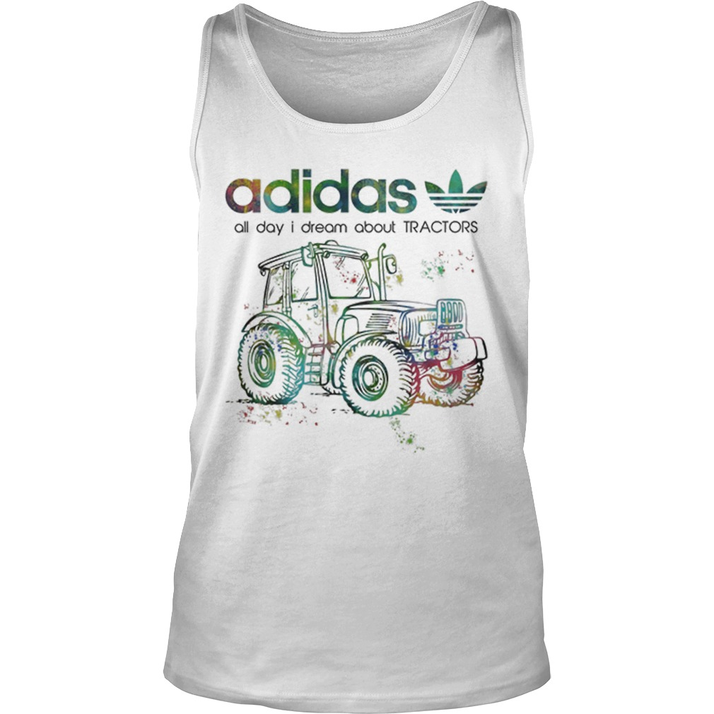 Adidas All Day I Dream About Tractors Tank Top