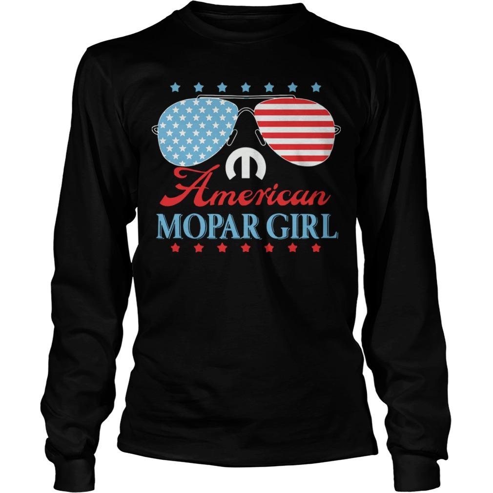 American Mopar Girl Longsleeve Tee