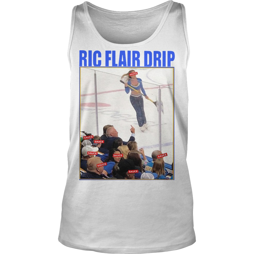 Brett Hull Ric Flair Drip Tank Top