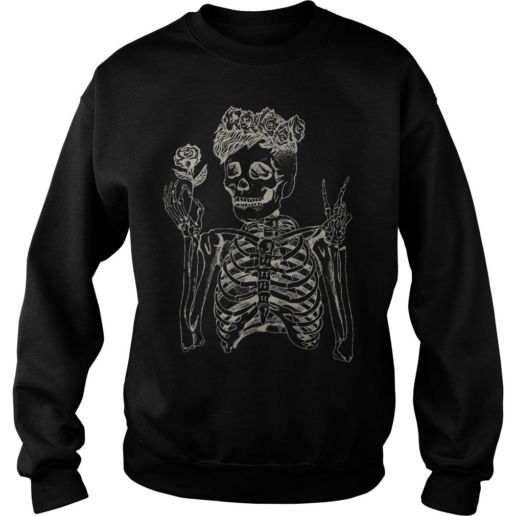 Daniel Howell Skeleton Sweater