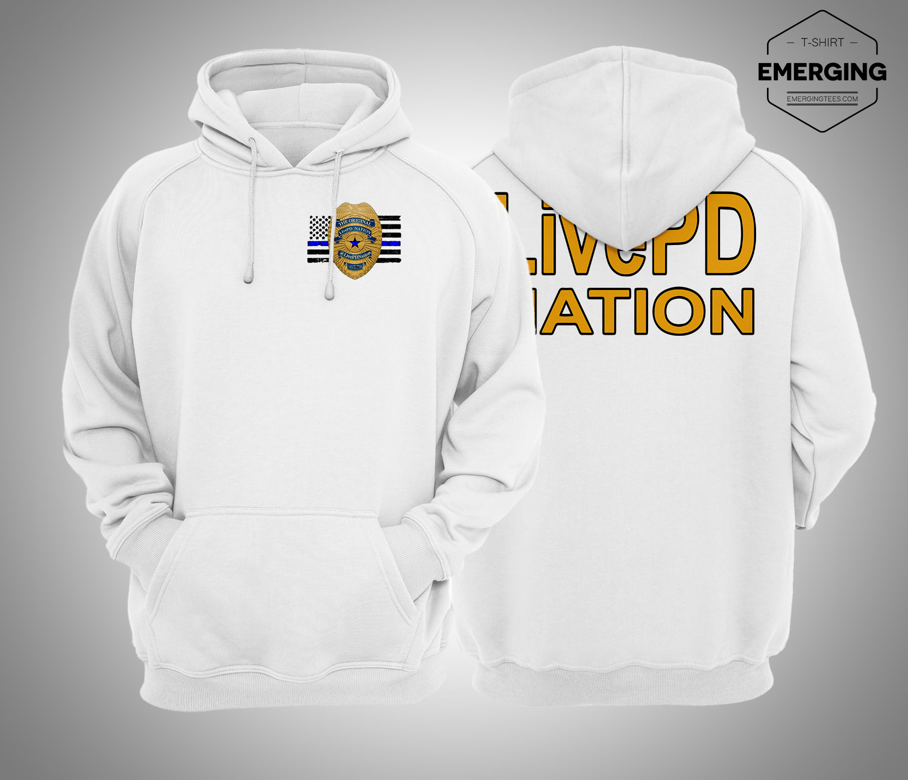 Eric Daw Livepd Nation Hoodie