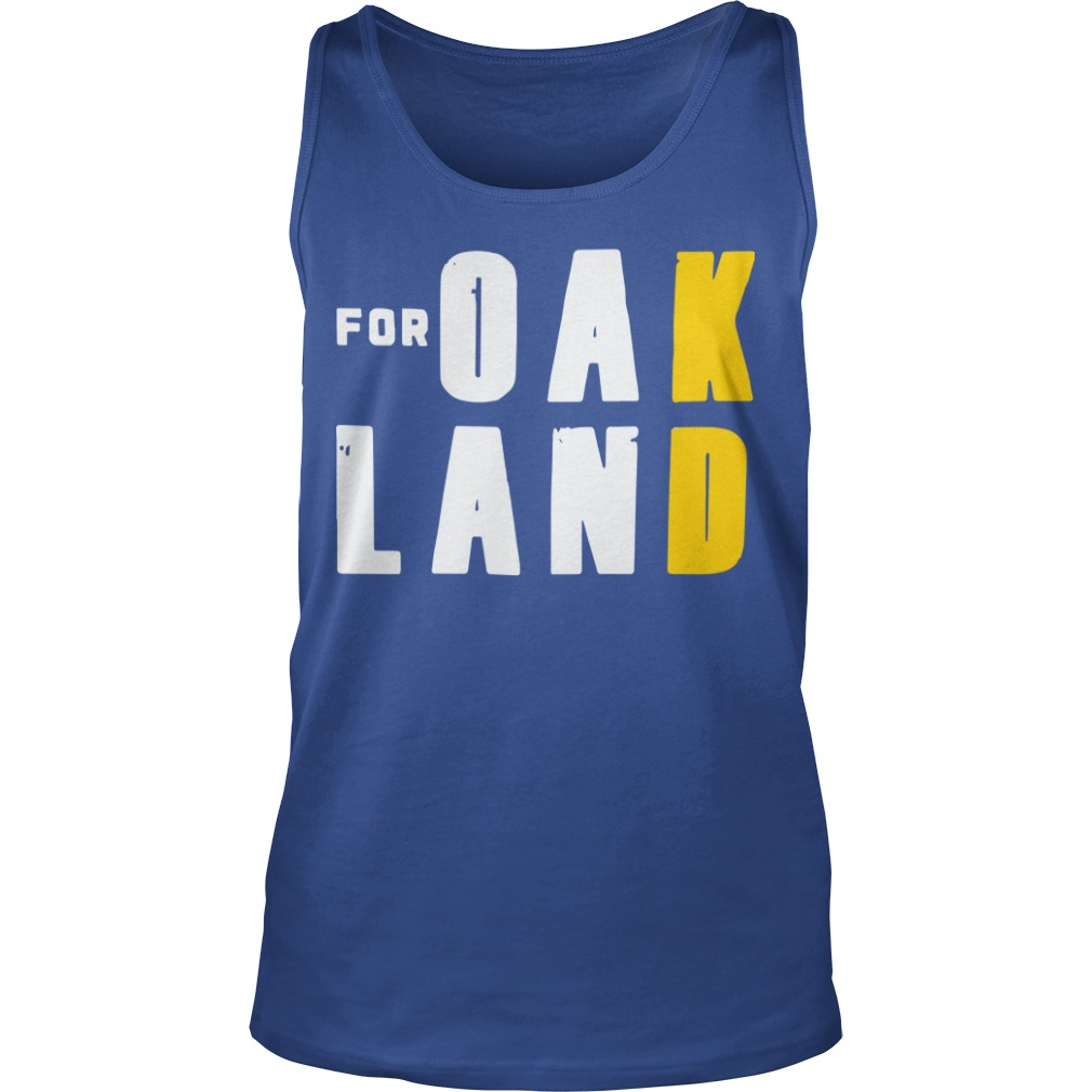 For Oakland Kd Tank Top