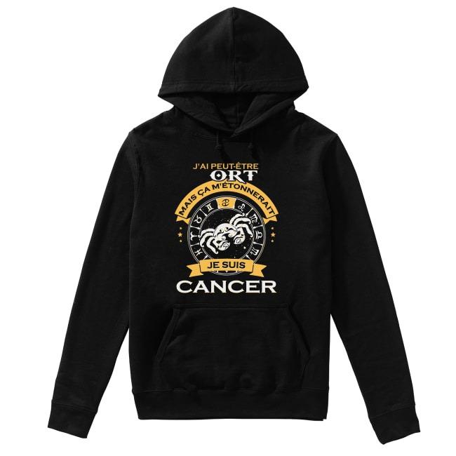 J'ai Peut Être Tort Mais Ca M'étonnerait Je Suis Cancer Hoodie
