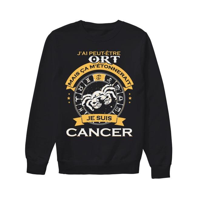 J'ai Peut Être Tort Mais Ca M'étonnerait Je Suis Cancer Sweater