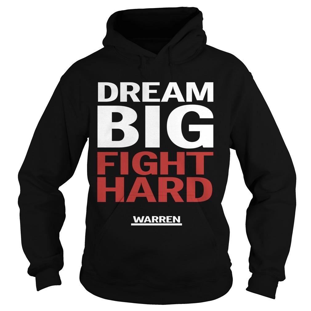 Louis Peitzman Dream Big Fight Hard Warren Hoodie