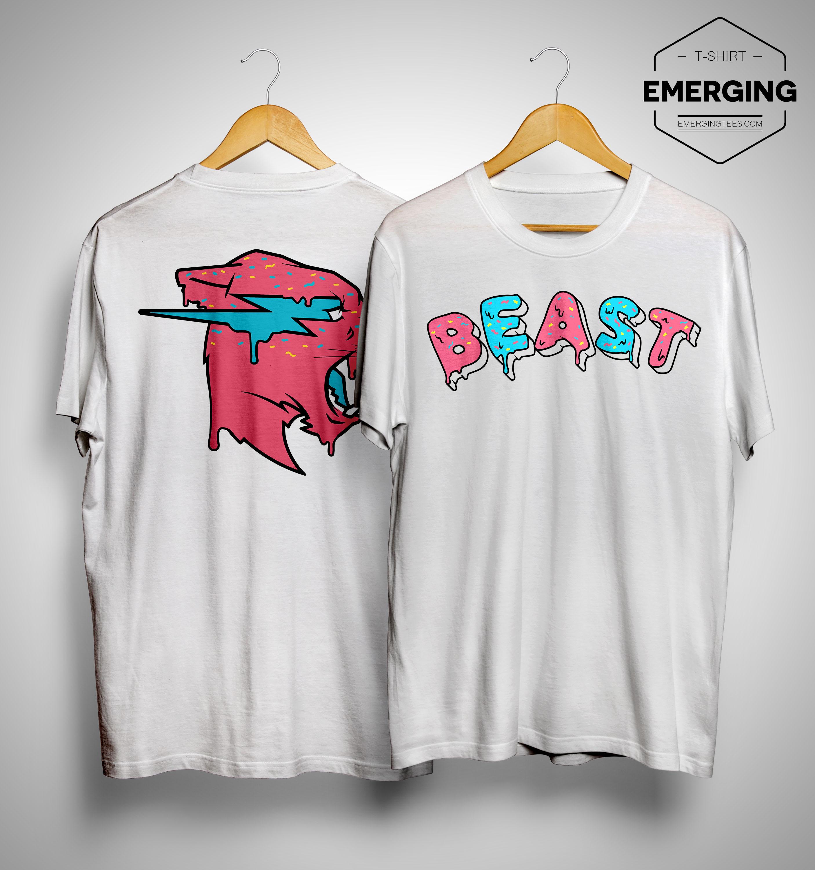 Mrbeast Donut Beast Shirt
