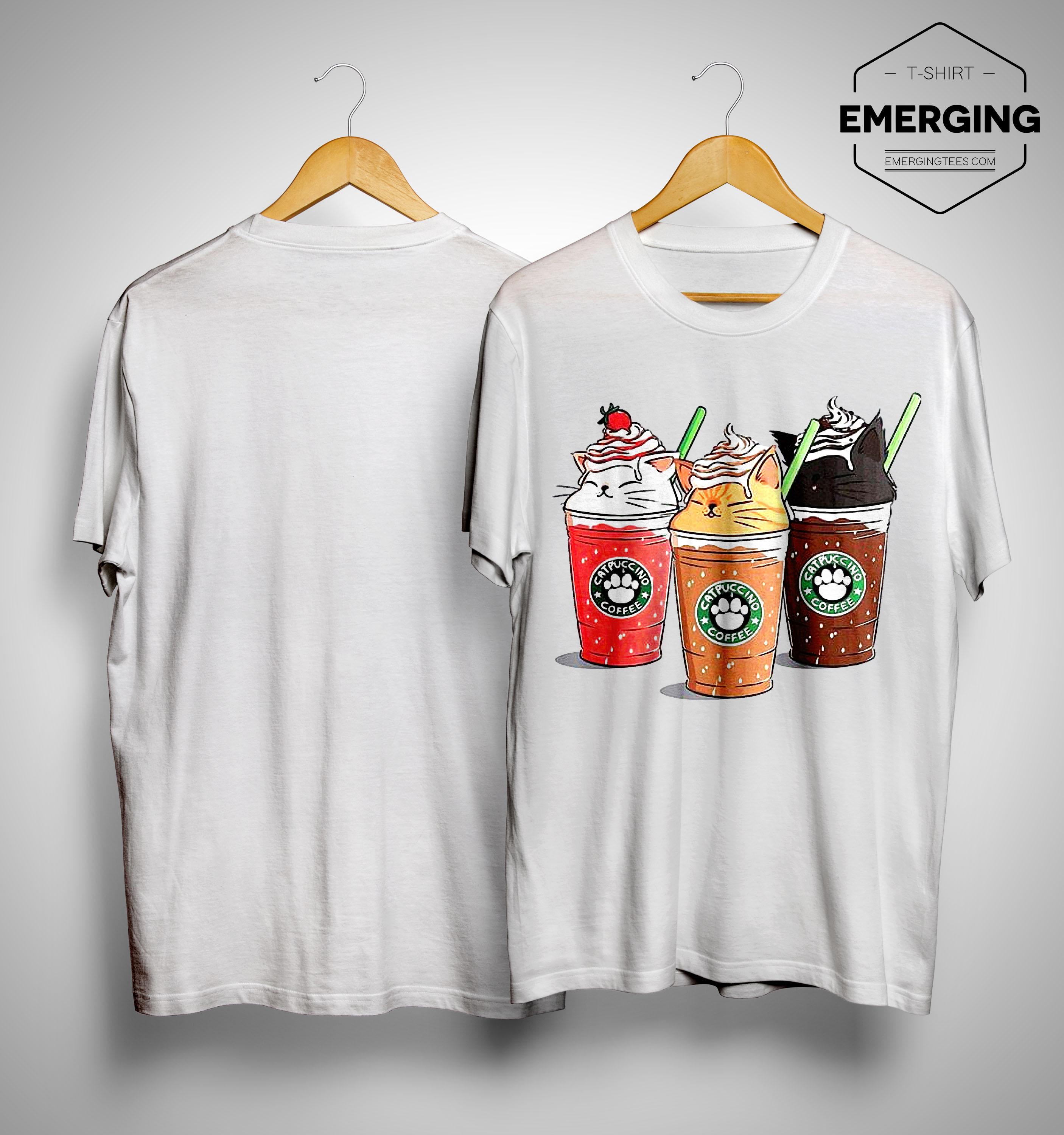 Starbuck Catpuccino Coffee Shirt
