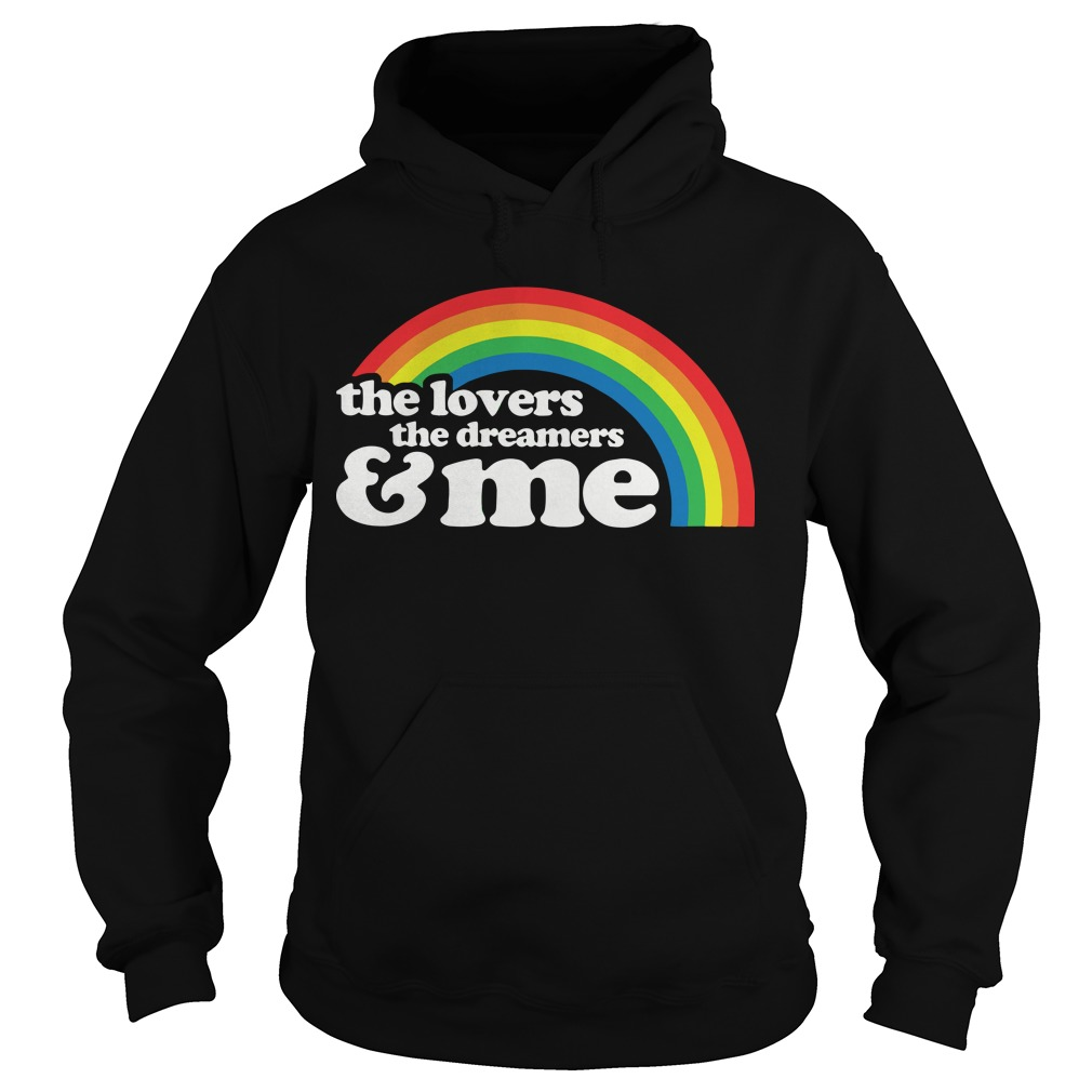 The Lovers The Dreamers And Me Hoodie