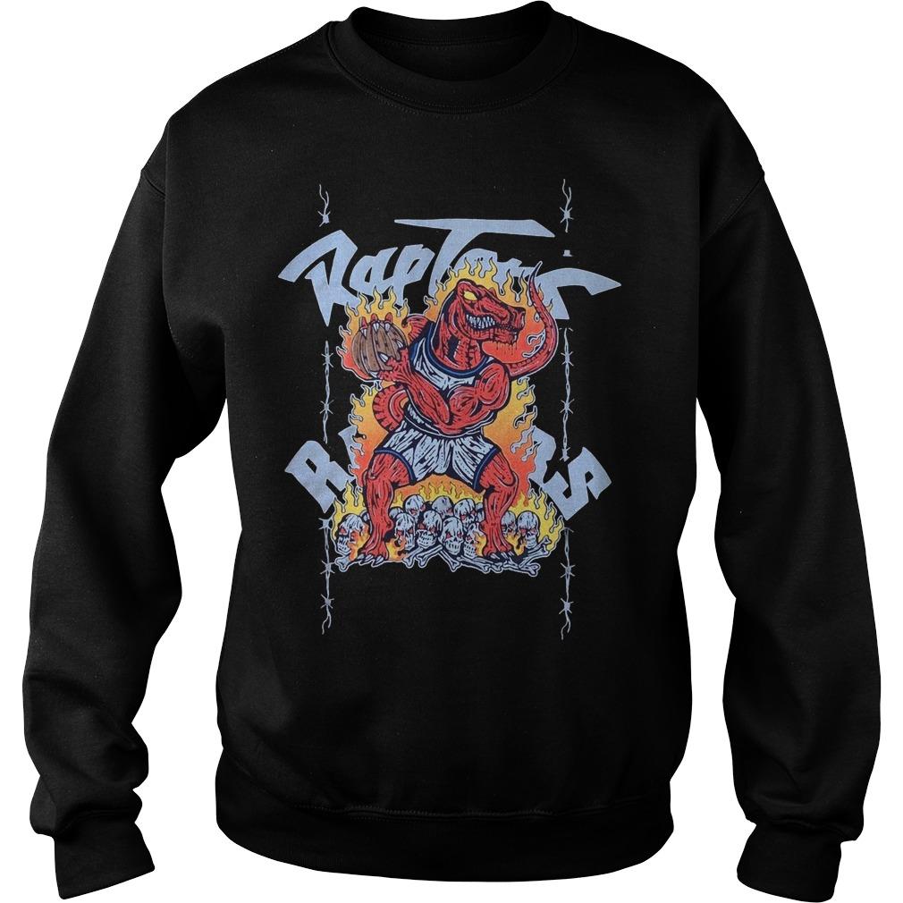 Toronto Raptors Warren Lotas Sweater