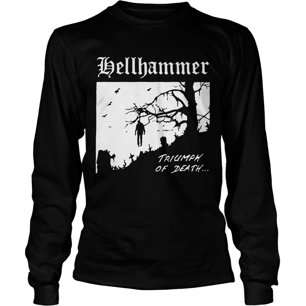 Tyler Boyce Nazi Hellhammer Triumph Of Death Longsleeve Tee