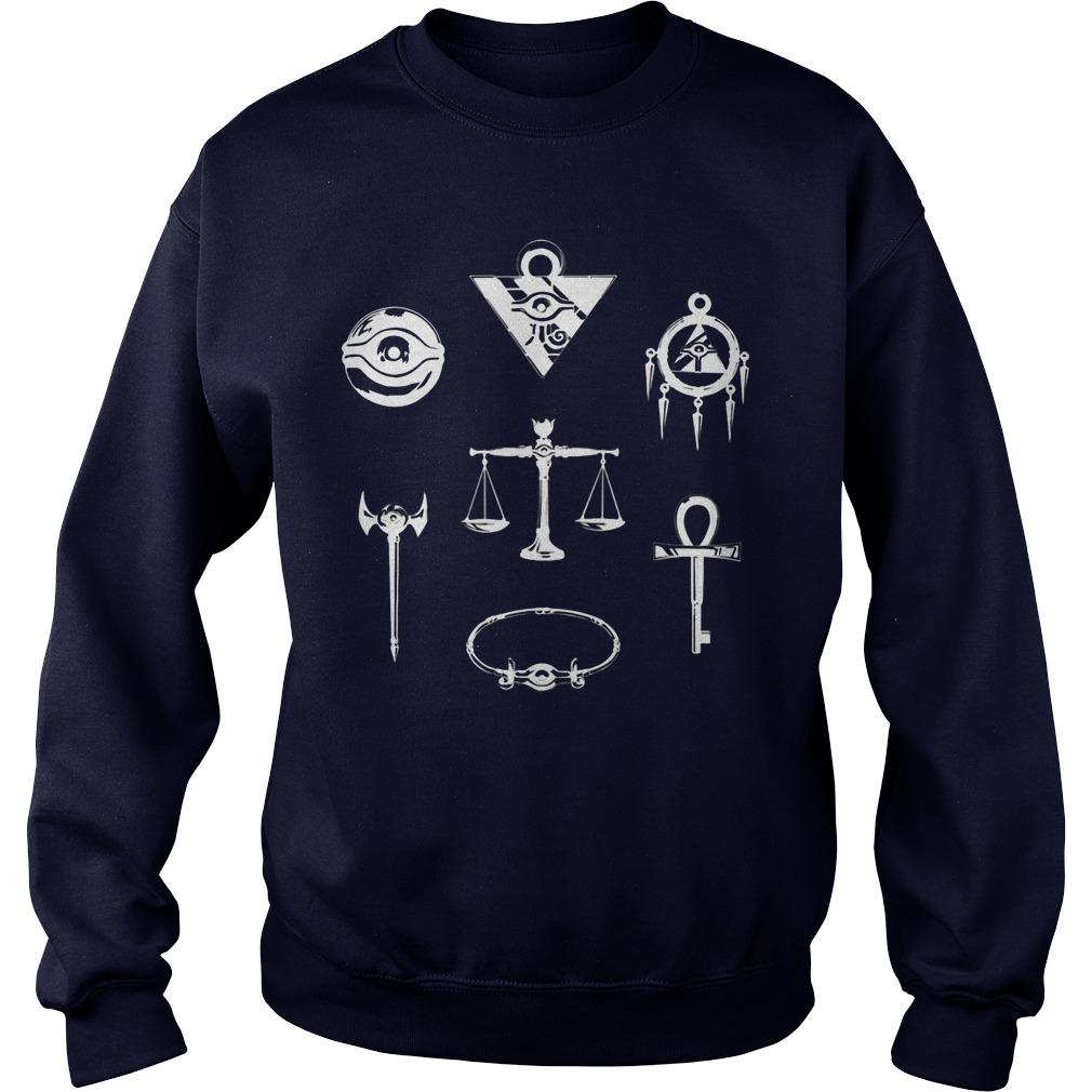 Yugi Oh Millennium Puzzle Sweater