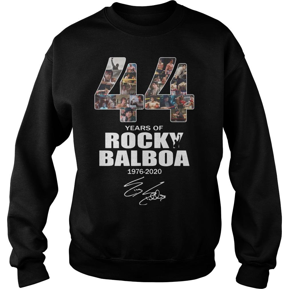 44 Years Of Rocky Balboa 1976 2020 Sweater
