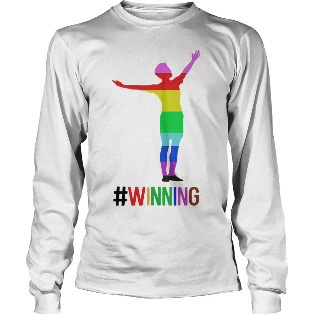 Alex Morgan Winning Lgbt Longsleeve Tee