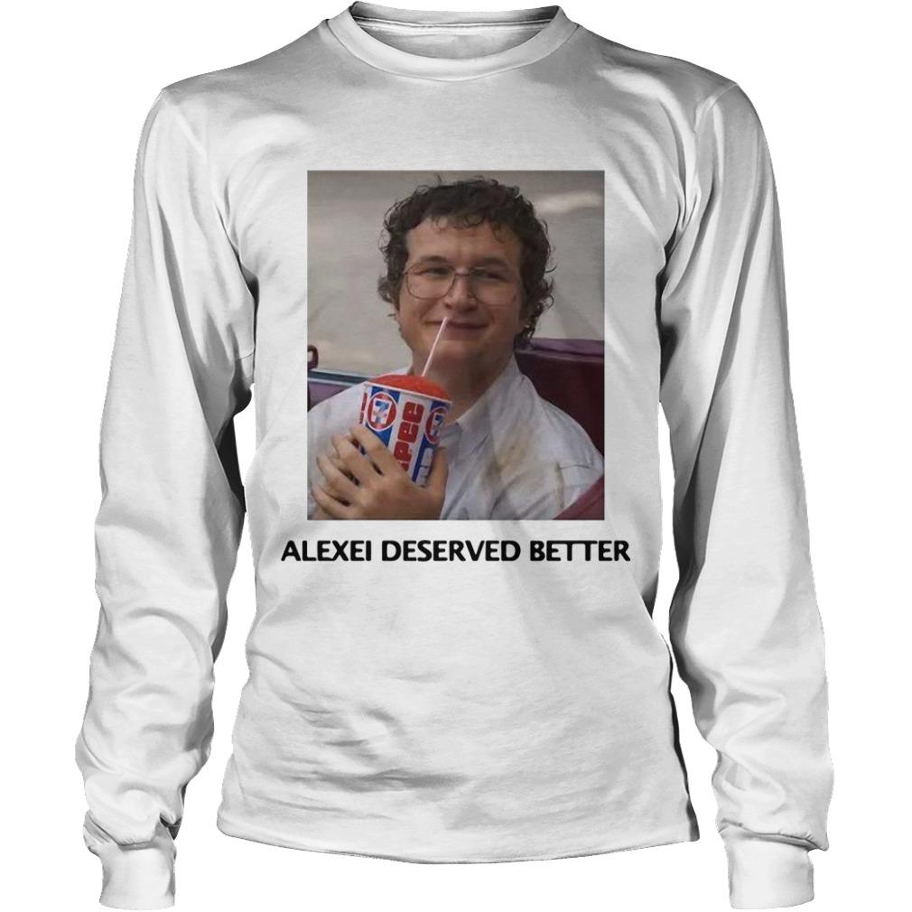 Alexei Stranger Things Longsleeve Tee