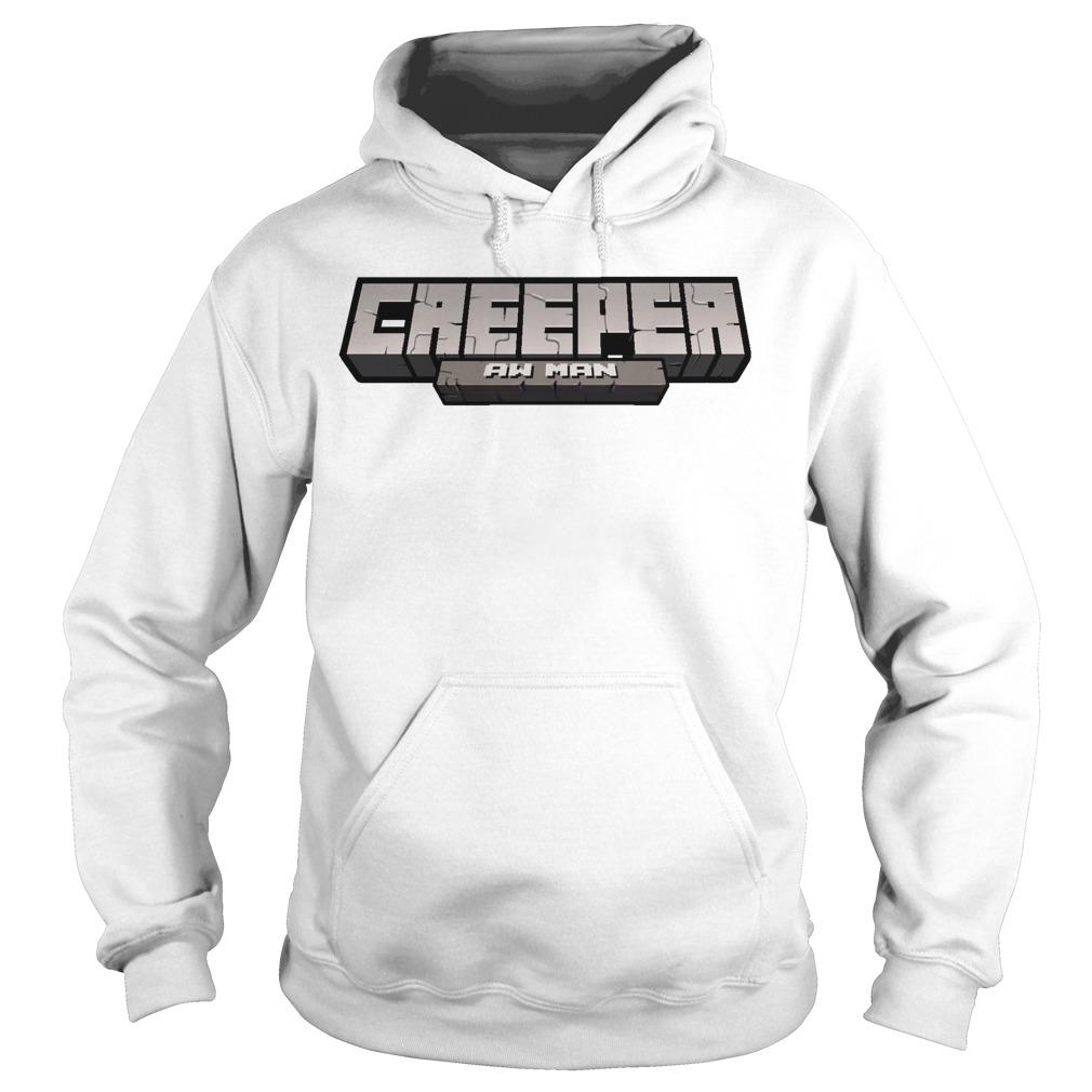 Captainsparklez Creeper Aw Man Hoodie